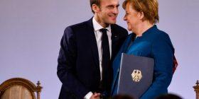 Macron dhe Merkel theksojnë unitetin franko-gjerman
