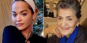 Rita Ora vesh fustanin 'përrallor' në shenjë respekti për gjyshen e saj të ndjerë
