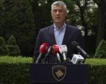 Thaçi pas votimit të Qeverisë Hoti: Kurti të heq dorë nga barrikadimi në zyrën e uzurpuar