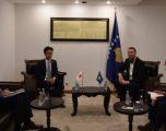 Abrashi falënderon Japoninë për ndihmën e dhënë Kosovës në luftimin e pandemisë