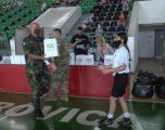 KFOR-i mbështet ekipin junior vendor të basketbollit