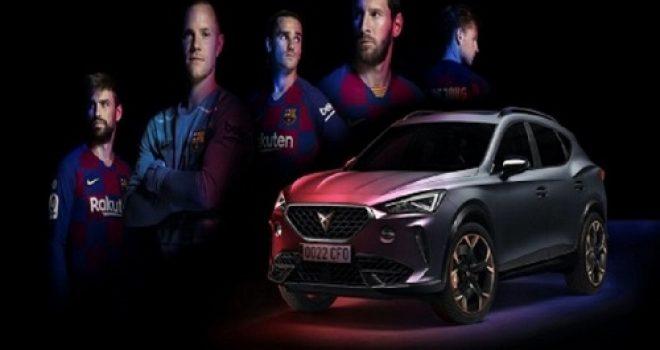 Barcelona bëhet me makinën e saj të parë zyrtare