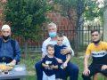 Thaçi: Krenar me prindërit dhe fëmijët e heronjve të kombit