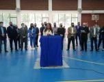 Dumoshi e Tahiri përurojnë palestrën sportive në Samadrexhë të Vushtrrisë