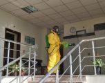 Dezinfektohet objekti i Gjykatës Themelore në Gjakovë