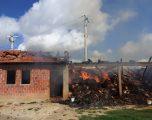 Digjet një shtallë bagëtish në Caravik të Klinës, dëmet rreth 20 mijë euro