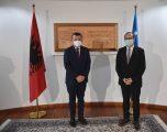 Hoti priti kryetarin e Grupit parlamentar të PS-së, z. Taulant Balla – biseduan për bashkëpunimin e gjithanshëm ndërmjet dy vendeve tona