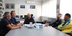 Agim Ademi takohet me Valon Berishën
