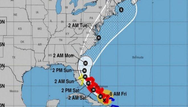 Florida shpall gjendjen e jashtëzakonshme për shkak të uraganit Isaias