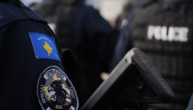 Policia arreston një person të dyshuar me rrezikshmëri të lartë