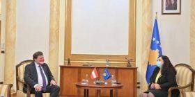 Osmani: Kosova dhe Austria të angazhohen në intensifikim të bashkëpunimit multisektorial