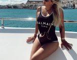 Dashnorja më e famshme në pushime luksoze – (Foto)