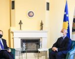 Haradinaj pret në takim shefin e zyrës së BE-së, flasin për zhvillimet në vend