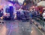Shpërthim i fuqishëm në Tiranë, dy të plagosur