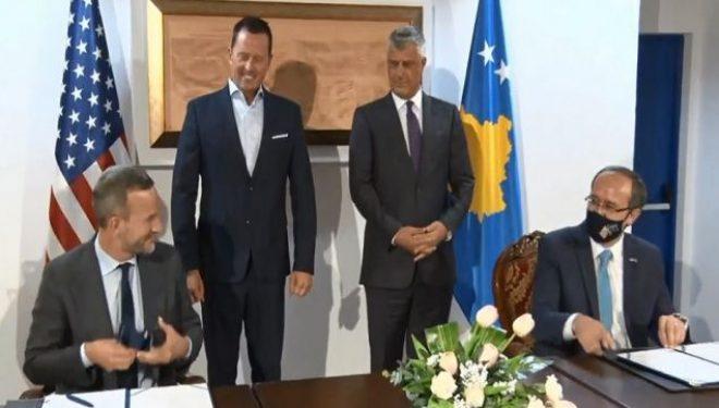Thaçi dekoron Grenell me Medaljen Presidenciale të Meritave