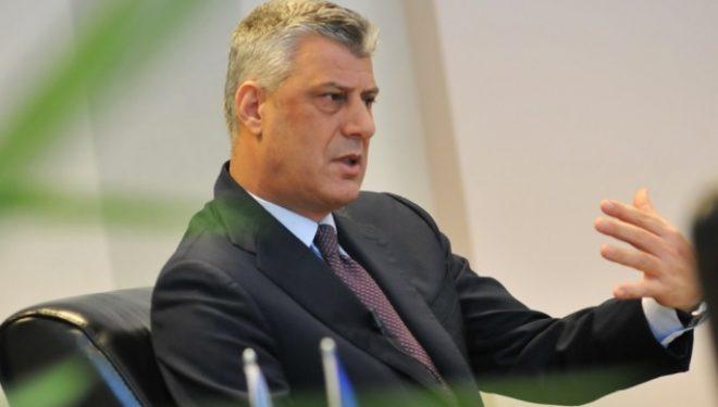 Thaçi: Njohja nga Izraeli forcon Kosovën si shtet