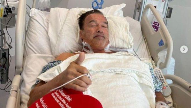 Arnold Schwarzenegger i nënshtrohet operacionit në zemër