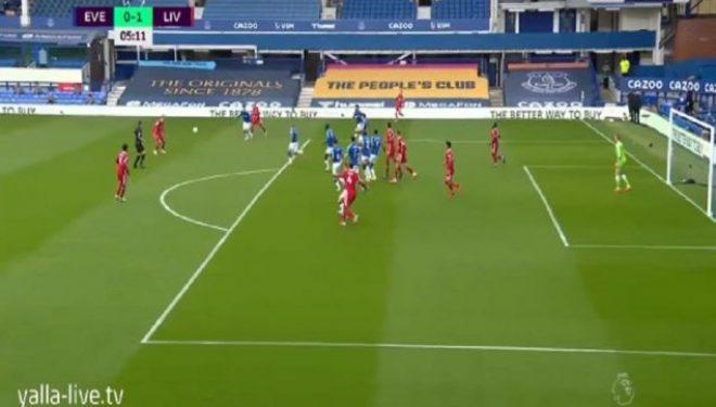 Dy minuta lojë dhe ka gol në derbin Everton – Liverpool