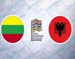 Lituani – Shqipëri, formacionet zyrtare