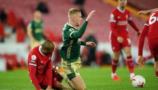 Shënohet goli i parë në ndeshjen ndërmjet Liverpoolit dhe Sheffield United