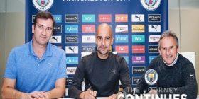 Guardiola nënshkruan kontratë të re me Manchester Cityn