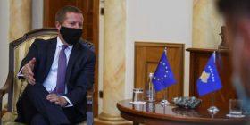 Shefi i Zyrës së BE-së bë Kosovë flet për zgjedhjet në Podujevë e Mitrovicë të Veriut