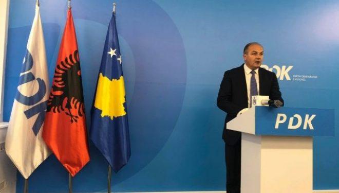 Hoxhaj: Kandidati për president duhet t'i takojë PDK-së, nuk kemi vota për partitë e tjera