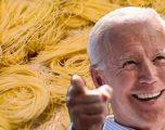 "Joe Biden ""i çmendur"" pas makaronave!"
