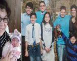 Nëna e dhjetë fëmijëve vdes 11 ditë pasi solli në jetë vajzën e saj të parë