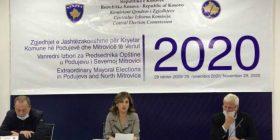Deri në ora 15:00 në Podujevë votuan 29.76 %, në Mitrovicën e Veriut 30.3 %