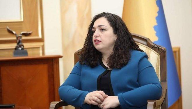 Vjosa Osmani thotë se synon postin e presidentes së Kosovës