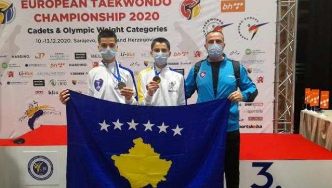 KOK: Dy medaljeevropiane për taekwondistët e rinj