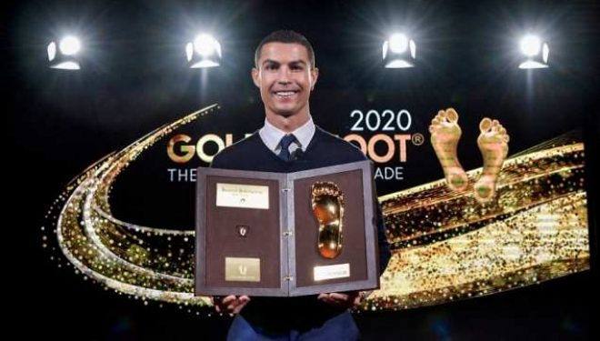 Tjetër çmim i madh për Cristiano Ronaldon