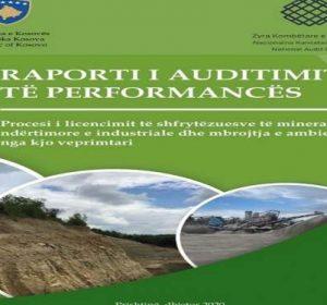 Proceset ekzistuese mbi licencimin e shfrytëzuesve të mineraleve ndërtimore e industriale nuk sigurojnë mbrojtje të mjedisit