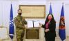 Osmani dekoron me Medaljen Presidenciale Ushtarake, ish-komandantin e KFOR-it, Michele Rissi