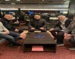 Takohen Agim Ademi dhe Bernard Challendes