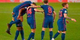 Atletico triumfon edhe ndaj Sociedadit, mbetet liderë e tabelës