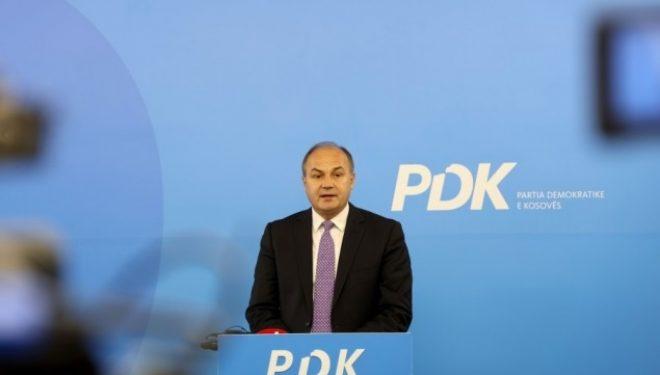 Enver Hoxhaj kandidat i PDK-së për kryeministër