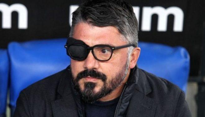 Mësohet arsyeja pse Gattuso po paraqitet me njërin sy të mbyllur në ndeshjet e Napolit