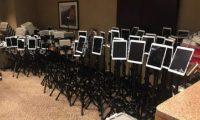 Fotoja virale shfaq dhjetëra iPad të përdorura nga pacientët para se të vdesin nga koronavirusi