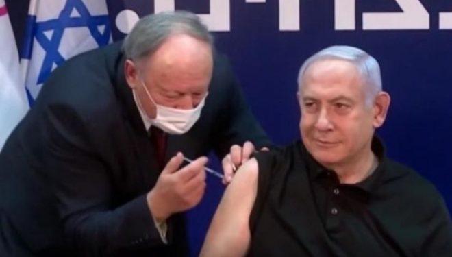 Izrael, Netanyahu vaksinohet i pari kundër COVID-19 para kamerave