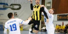 Hendboll, Prishtina eliminohet nga Kupa Evropiane