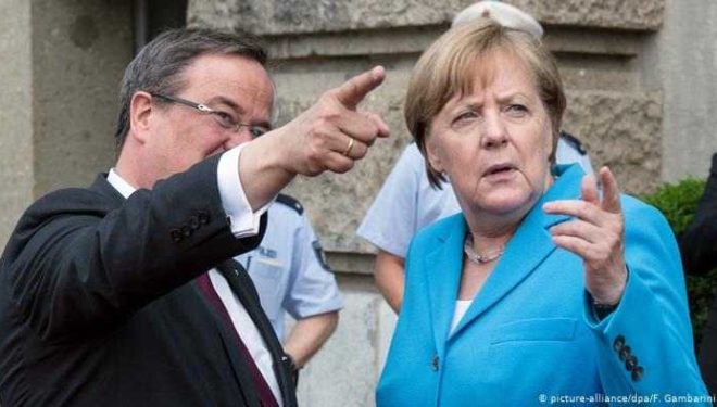 """Njeriu i besuar i Merkelit merr drejtimin e CDU-së, humb """"Trumpi gjerman"""""""