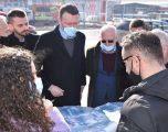 """Abrashi prezanton projektin për lagjen """"Dardania"""" në Fushë-Kosovë"""