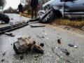 Lëndohen 8 persona në një aksident trafiku në magjistralen Pejë-Prishtinë