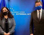 Osmani pritet nga Lajçak, flasin edhe për procesin e dialogut Kosovë-Serbi
