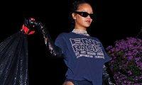 Rihanna feston në mënyrë unike fitoren e Biden…me të brendshme e qese plehrash (Fotot)