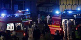 Zjarr në një spital të COVID-19 në Rumani, katër të vdekur