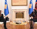 Osmani takon koordinatoren e OKB-së, flasin për rezultatin e zgjedhjeve të 14 shkurtit