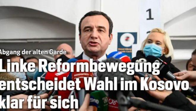 Mediumi zviceran shkruan për zgjedhjet në Kosovë: Vetëvendosje fitoi qartë